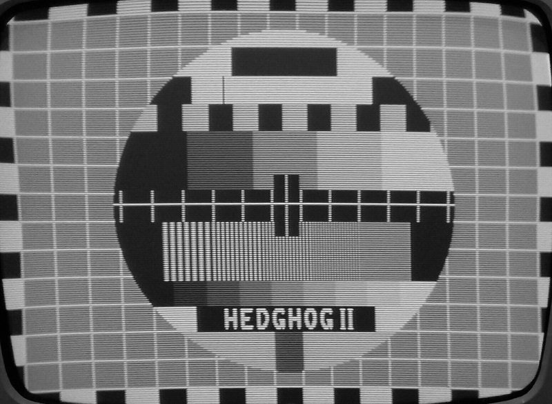 HEDGHOG II TEST CARD